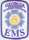 Georgia EMS patch